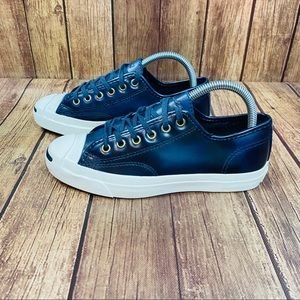 Converse Jack Purcell Burnished Leather Womens 6.5